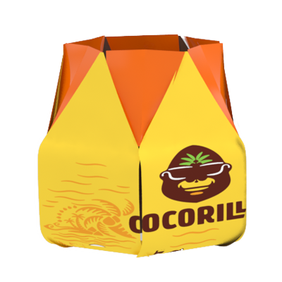 Cocorilla packaging open